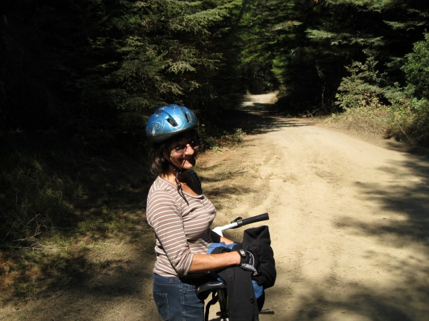 25_Louise after an hour's pedaling