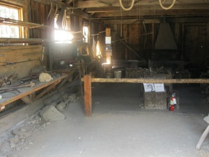 6_inside the blacksmith shop