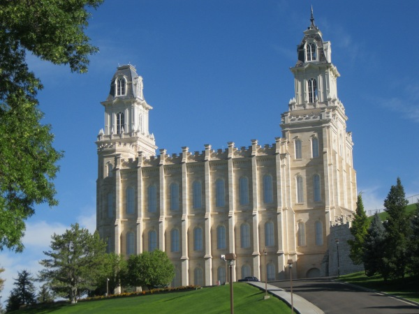 11d_Manti temple-south profile-morning