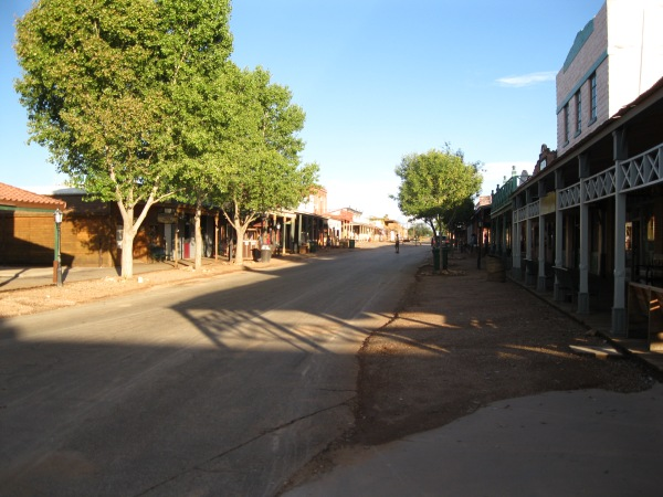 17_downtown Tombstone evening