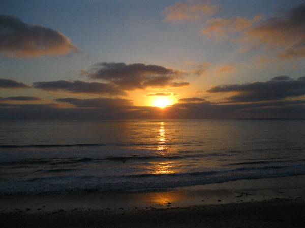 2_sunset at Carlsbad