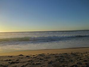 4_beach evening facing the sea