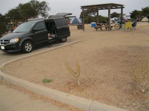 9_San Clemente campsite 1