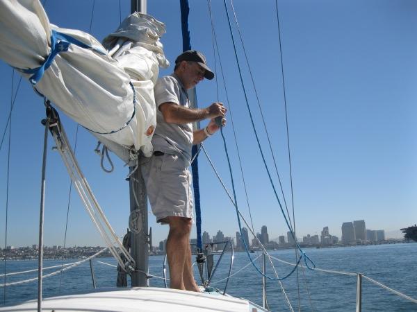 c8_first mate Dennis at work