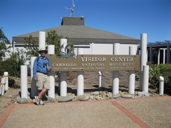 d1_me at the Cabrillo Monument
