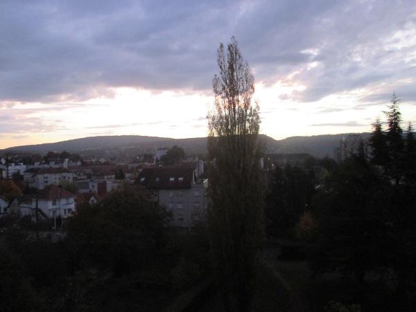 0_Sunrise over Besançon